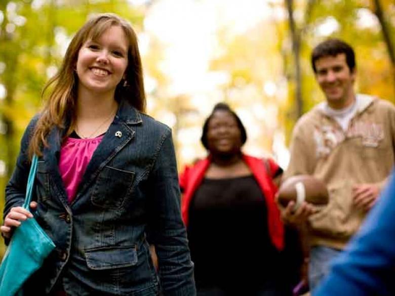 Penn State Berks students smiling