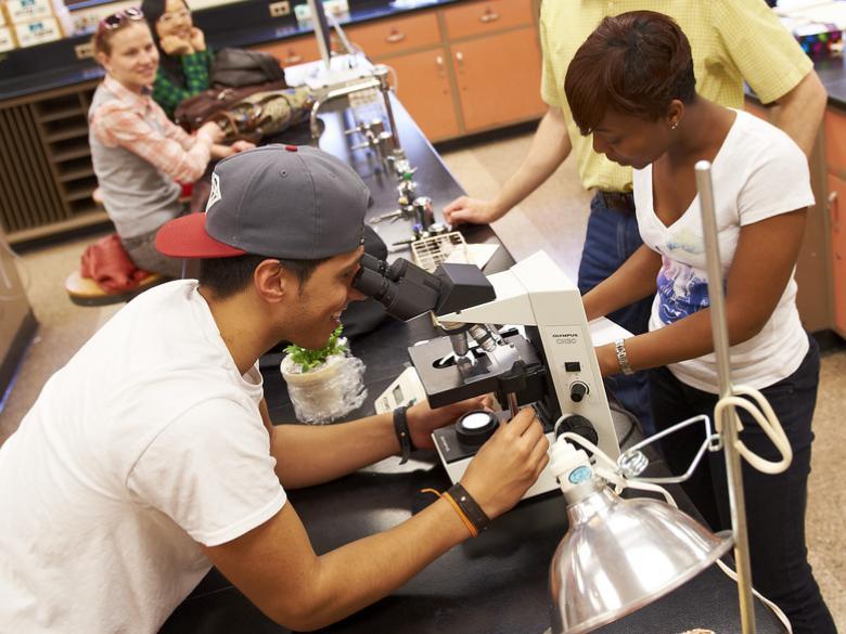 Penn State Abington biology class