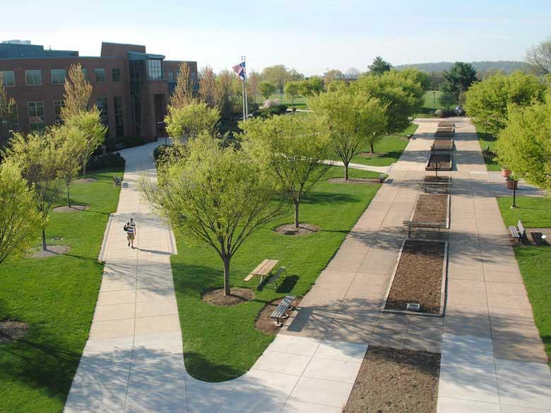 Vartan Plaza at Penn State Harrisburg